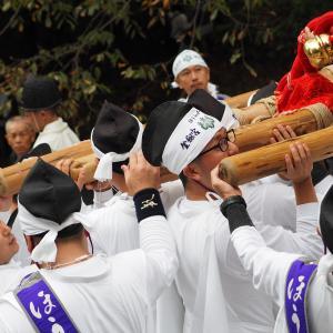金剱宮「ほうらい祭り」(御神輿男段編)