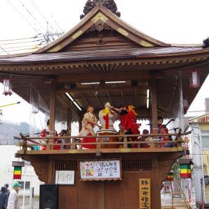 雪国の奇祭「勝山左義長」(その1)