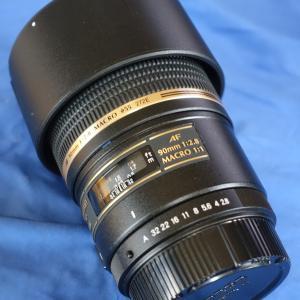 タムロンSP AF90mmF/2.8 Di MACRO1:1