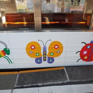 上田電鉄のラッピング電車