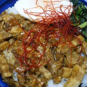 ルーローハン(台湾風豚角煮飯)