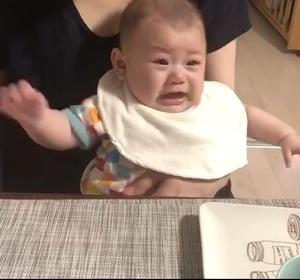 怒った~^^;