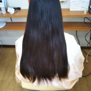 暑い→髪バッサリ切りたい→ヘアドネーション♪