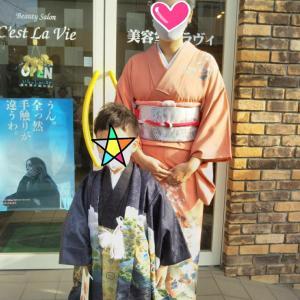 自分で選んだ羽織袴☆5歳さん&ママさん♡