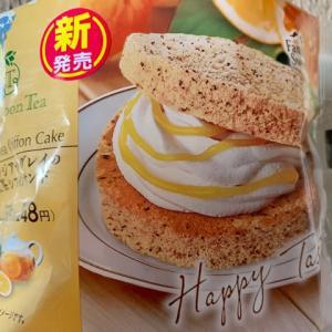 ファミマで買った♪紅茶シフォンサンド*\(^o^)/*