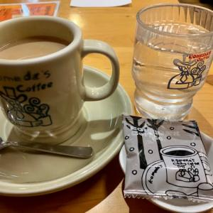 コメダ珈琲店で♪お昼休憩(pq・v・)+°