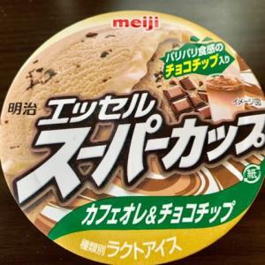 ドラッグストアで買った♪meijiスーパーカップd('∀'*)