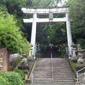 2021.07.03 山陽旅1日目(2) 三原の神社 そして糸崎から福山までの車窓旅