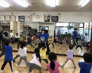 浜田山スタジオ幼児ダンス体験レッスン会リポート★★