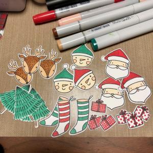 可愛いクリスマスも...