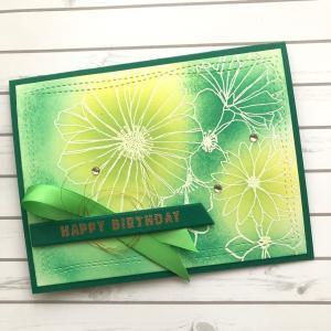 グリーンの花束イメージで...
