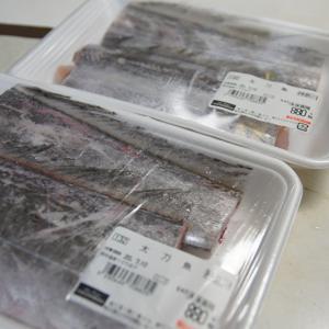 太刀魚は煮付けが美味しい♪