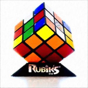 まだルービックキューブで遊んでるの?