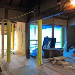 民家改修 桜井の家 進捗状況