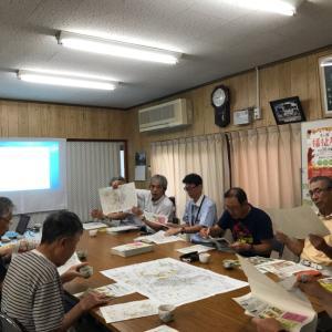 2019.9.16この日は朝9時から土砂災害レッドゾーンの説明会を、自治会でして頂くことになりました。