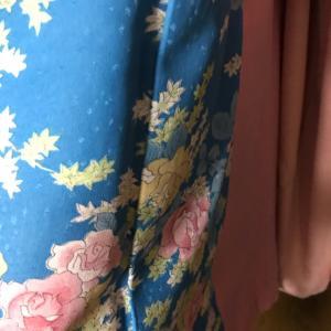 夏物の着物と帯を、とうとう、しまうことになりました