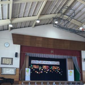 2019.11.1小学校の音楽会と、地区の文化祭準備