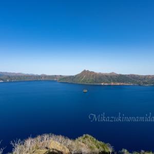 昼の摩周湖