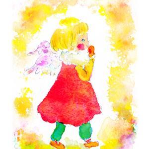 天使のおさんぽ
