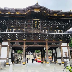 成田山新勝寺・木々と滝