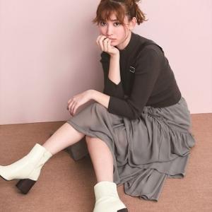 リランドチュールの新作のティアードスカートが可愛すぎる♪