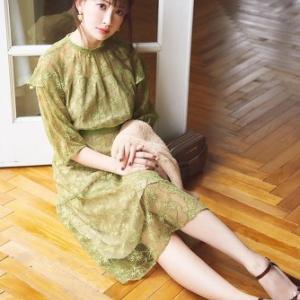 【JILL by JILLSTUART】小嶋陽菜さん着用アイテムは >>こちら<< からチェック!