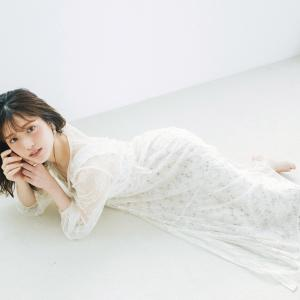 白レースが気分♡サマーワンピで作る上品フェミニンコーデ♪ #松村沙友理
