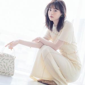 ♡西野七瀬さん着用ワンピース→スイーツみたいなたまご色ワンピースが優しげで可愛い♪