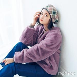 #遠藤さくら さん♡×チェック柄×ベレー帽
