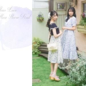 ≠ME(ノットイコールミー)谷崎 早さん・鈴木 瞳美さん着用♪ロディスポットのガーリーなワンピース
