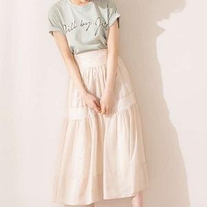 絶対可愛くなれる♪柔らかくエアリーなロングスカート♡ #jillbyjillstuart