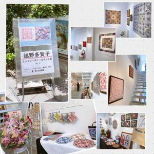 Quilt Note さんの個展へ