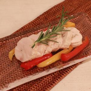 しっとり柔らか鶏ハム~大きい生牡蠣と七夕