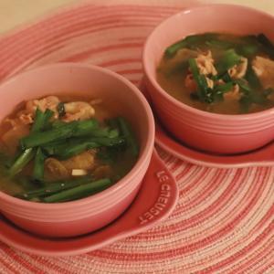 3日で2Kgやせる魔法のスープから豚肉のキムチチゲ