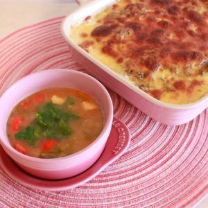 シーフードとトマトのスープ~久しぶりに船に乗ったよ
