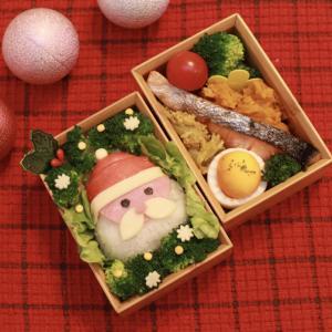 サンタさんお弁当~ライトアップで怖いポロン