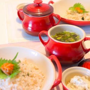 サバとニラのわかめスープ〜ふわっふわポロン