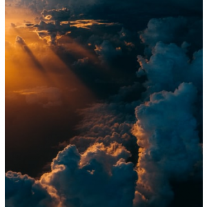 写真詩「空と顔」