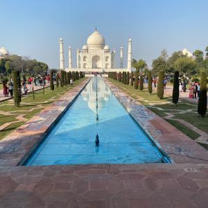 去年の今頃はインドにいたっけー。。。