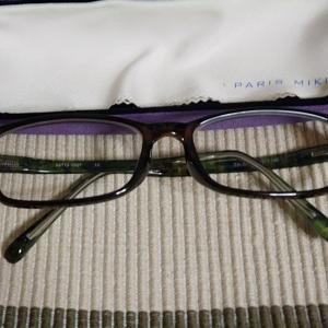雑記:メガネを買いました