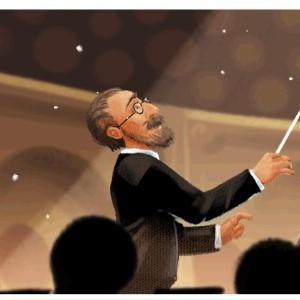 今日のGoogleトップロゴ、最高です!スメタナのモルダウが聴ける!!