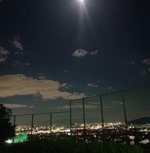 澄んだ空気と夜空の中で☀️🌕❗