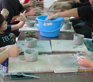 陶芸教室への参加を