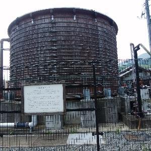 木製貯湯タンク