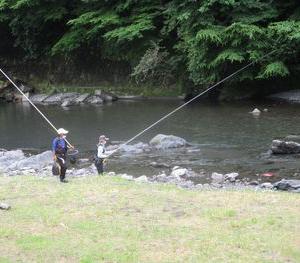 アユの友釣り大会