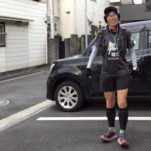 頑丈ランナー、多摩川を走る