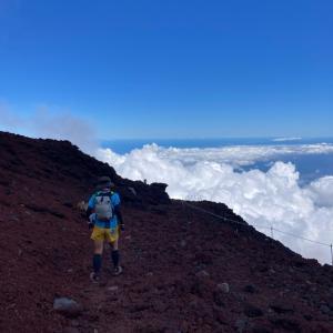 今年2度目の富士山は御殿場口から