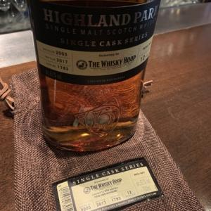 【 THE WHISKY HOOP 】   HIGHLANDPARK 2005