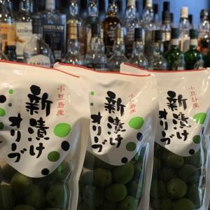 【オツマミ】小豆島 新漬けオリーブ