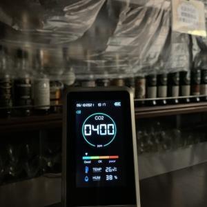 CO2濃度測定器設置(╹◡╹)